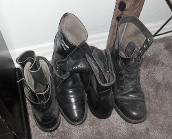 photo of my father's boots